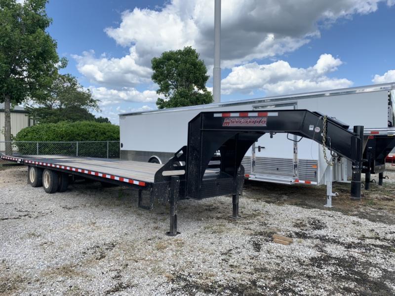 2019 Midsota FBGN 32' Hydraulic Dovetail Gooseneck Trailer 25900 GVWR