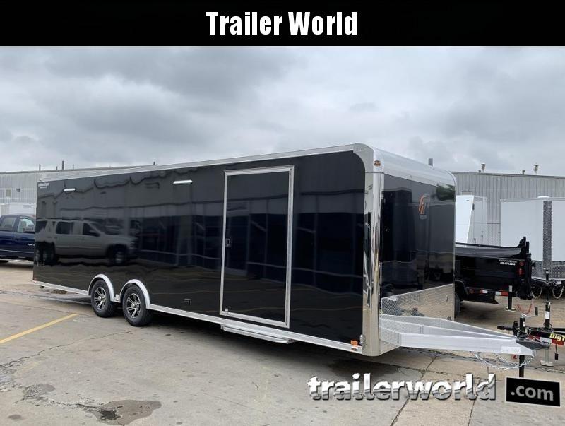 2020 inTech  28' Aluminum Enclosed Race Trailer