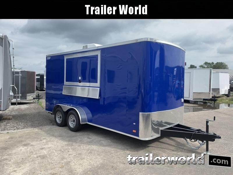 2020 CW 7' x 16' x 7'  Vendor / Concession Trailer