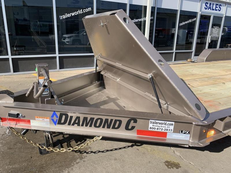 2019 Diamond C LPX 20' Equipment Trailer