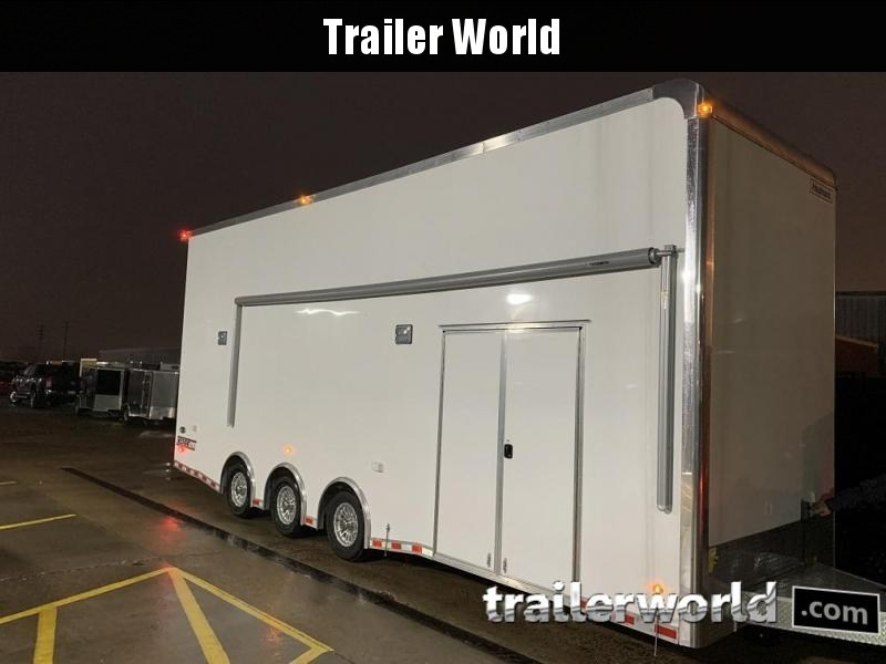 2019 Haulmark EDGE Aluminum 28' Stacker Race Trailer