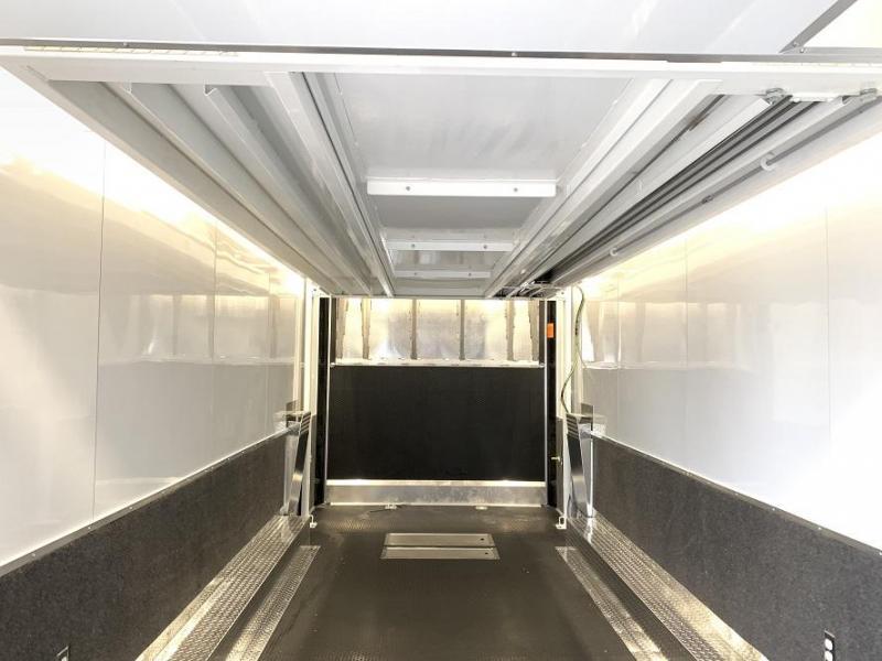 2019 Haulmark EDGE Aluminum 28' Stacker Race Trailer