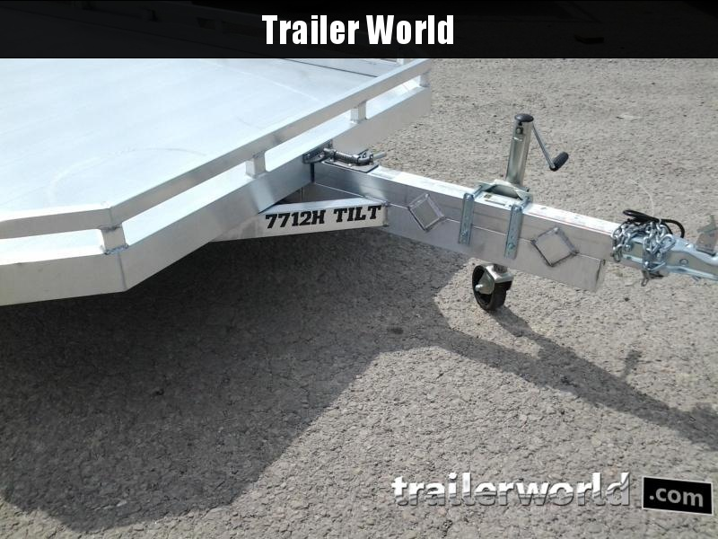 2019 Aluma 7712H 12' Tilt Aluminum Utility Trailer