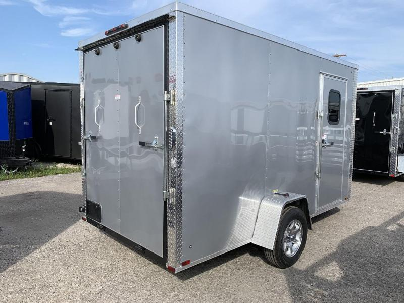 "2020 Arising 6 x 12 x 6'9"" Enclosed Cargo Trailer w/ Windows"