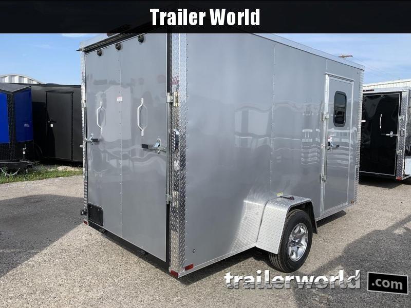 """2020 Arising 6 x 12 x 6'9"""" Enclosed Cargo Trailer w/ Windows"""