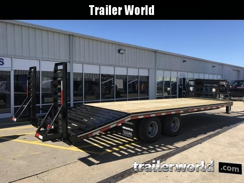 2019 Better Built Gooseneck Flatbed 25' Equipment Trailer 10 Ton