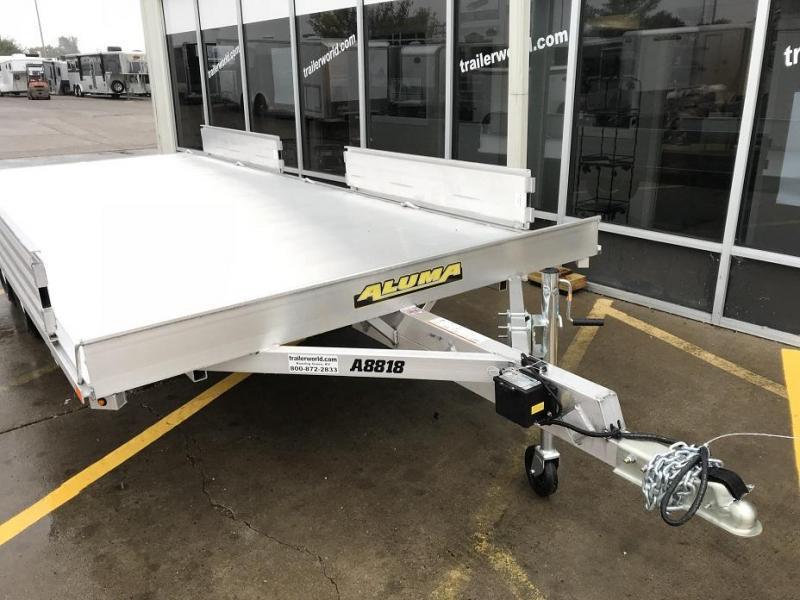2019 Aluma A8818 ATV Utility Trailer