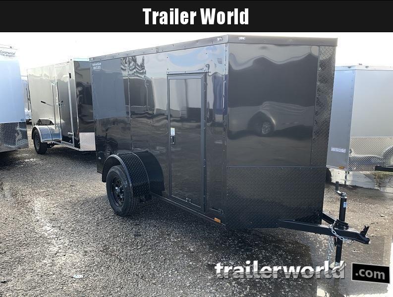 2020 5' x 10' x 5.5' Cargo Vnose Cargo Door Trailer