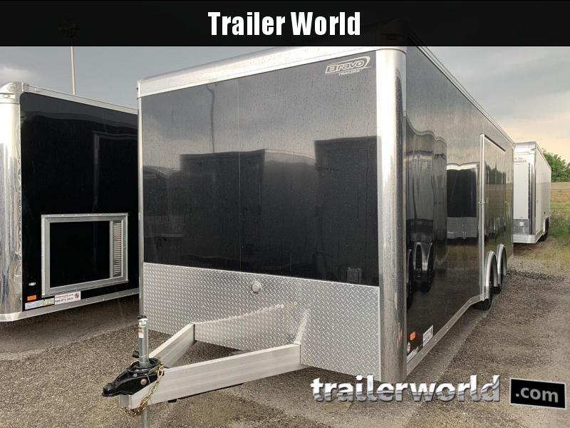 2020 Bravo Star 24' Aluminum Enclosed Car Trailer