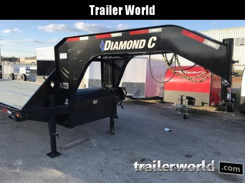 2020 Diamond C FMAX210 27' + 5' Gooseneck Trailer