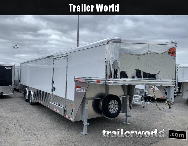 2020 Sundowner 38' Aluminum Gooseneck Enclosed Car Trailer