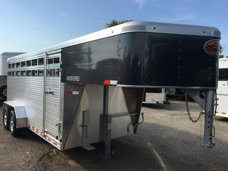2021 Sundowner 16' Rancher Express Livestock Trailer