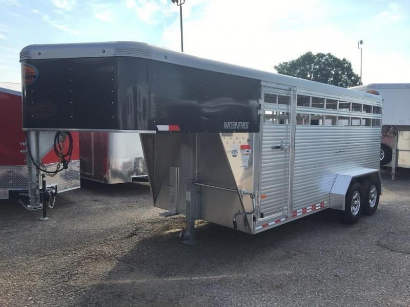 2021 Sundowner 16' Rancher Express Livestock Trailer