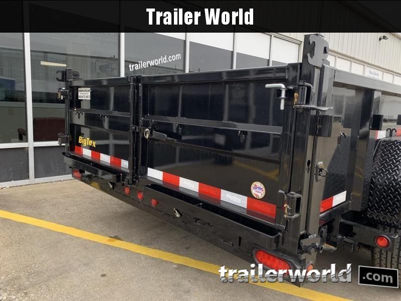 2019 Big Tex Trailers 14LP-14' Dump Trailer w/ TARP - LOW PROFILE
