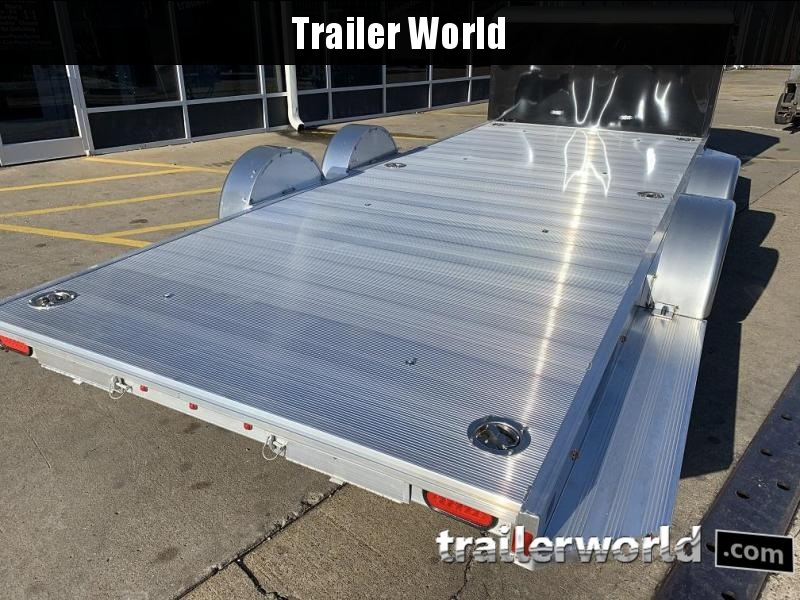 2020 Aluma Executive Series 8218-XL 18' Aluminum Open Car Trailer