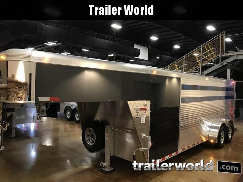 2019 Sundowner Trailers Showman GT Gooseneck Livestock Trailer