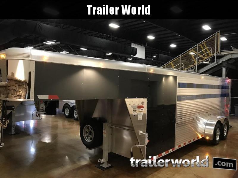 2020 Sundowner Trailers Showman GT Gooseneck Livestock Trailer