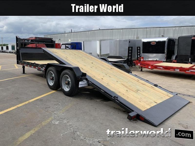 2020 Diamond C HDT Gooseneck 24' w/ 16' Tilt-Bed Equipment Trailer 10 Ton