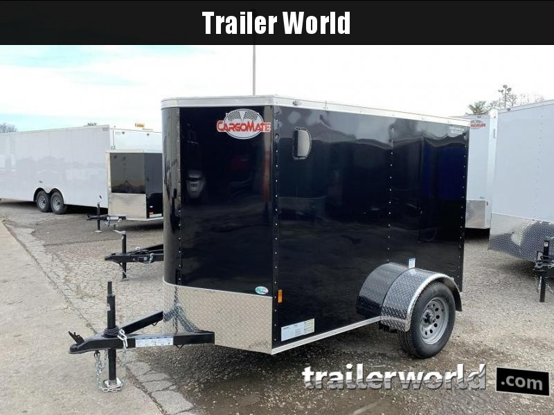 2020 Continental Cargo 5' x 8' x 5.5' V nose Enclosed Cargo Trailer