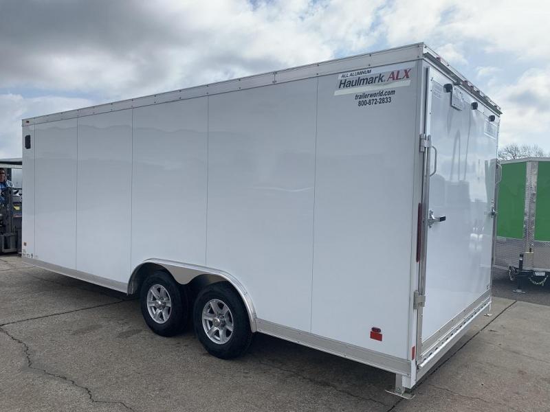 2019 Haulmark 20' Aluminum Enclosed Car Trailer - CLEARANCE