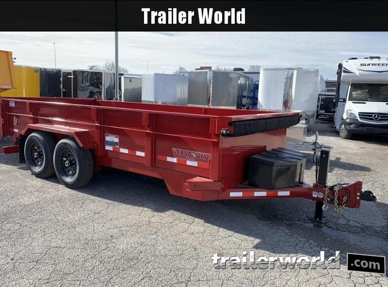 2020 Midsota HV-16' Commercial Grade Dump Trailer 15400 GVWR