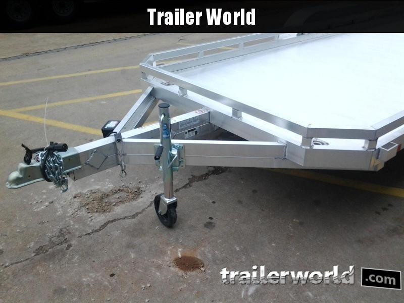 2020 Aluma 7816BT 16'  Aluminum Open Utility Trailer