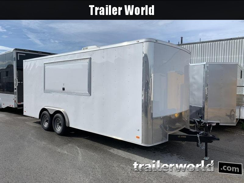 2019 CW  8.5' x 20' x 7' Vendor / Concession Trailer