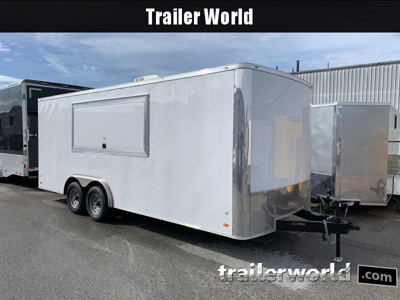 2019 CW  8.5' x 20' x 7' Vendor / Concession Trailer