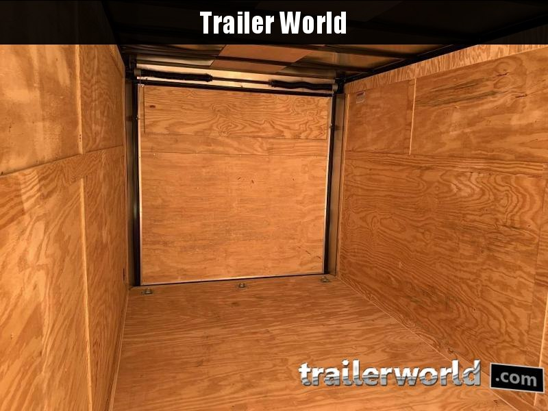 2020 CW 7' x 16' x 6.5' Vnose Enclosed Cargo Trailer BLACK OUT
