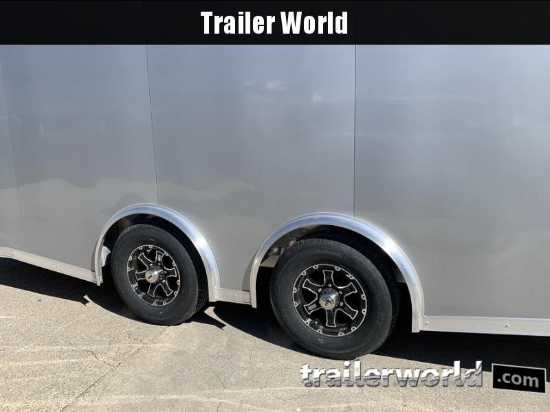 2020 Bravo Star 24' Aluminum Enclosed Car Trailer w Full Access Door