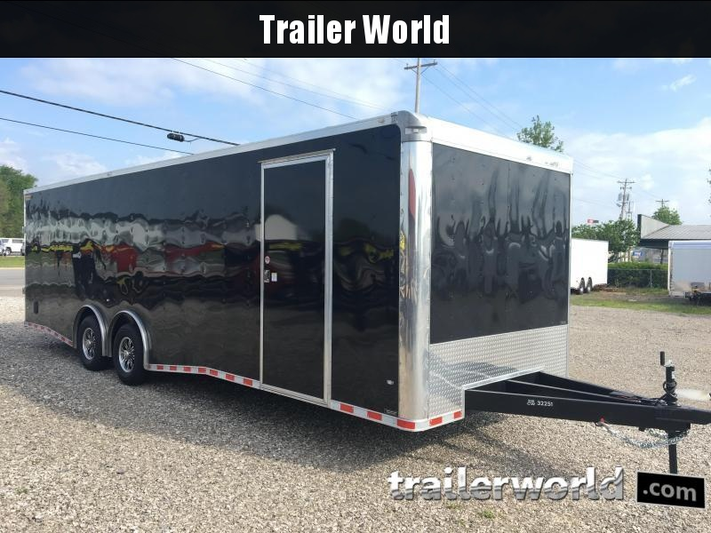 2020 CW 28'  Enclosed Car Trailer  Spread Axles 7' Tall 14k GVWR