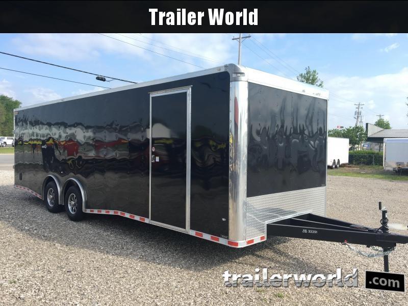 2020 CW 28'  Enclosed Car Trailer  Spread Axles 7' Tall 14k GVWR