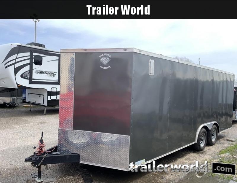 2019 Diamond Cargo 20 Vnose Enclosed Car / Racing Trailer