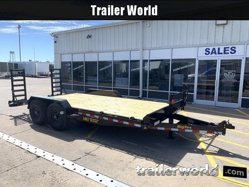 2020 Big Tex 14ET-18'  Flatbed Equipment Trailer  7 Ton