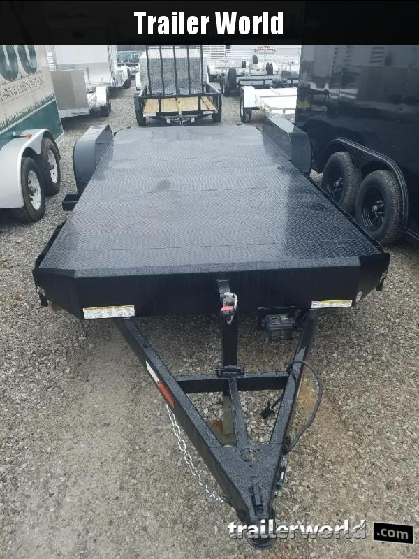 2015 Sure-Trac  20' Steel Deck Car Hauler Trailer  10k