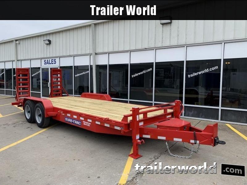 2019 Sure-Trac 20' Implement Trailer 16k GVWR