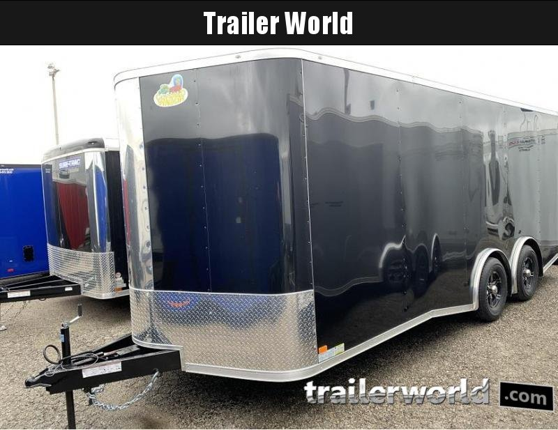 2020 Covered Wagon Trailers 20 Spread Axle Car / Racing Trailer