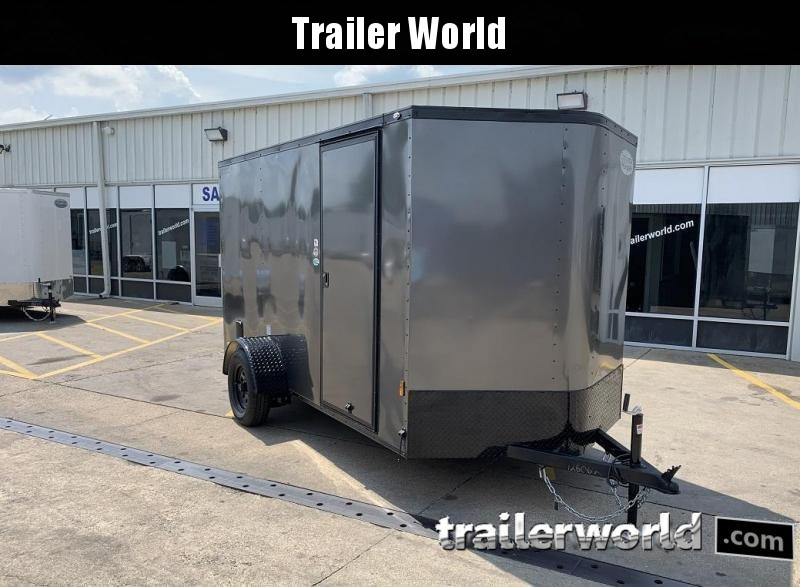 2020 Continental Cargo 6 x 10 x 6.3 Trailer w Ramp Door