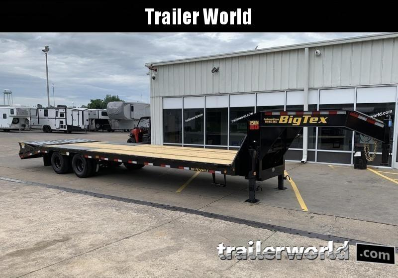 2020 Big Tex 25GN-25' + 5' Gooseneck Trailer 25900 GVWR MEGA Ramps