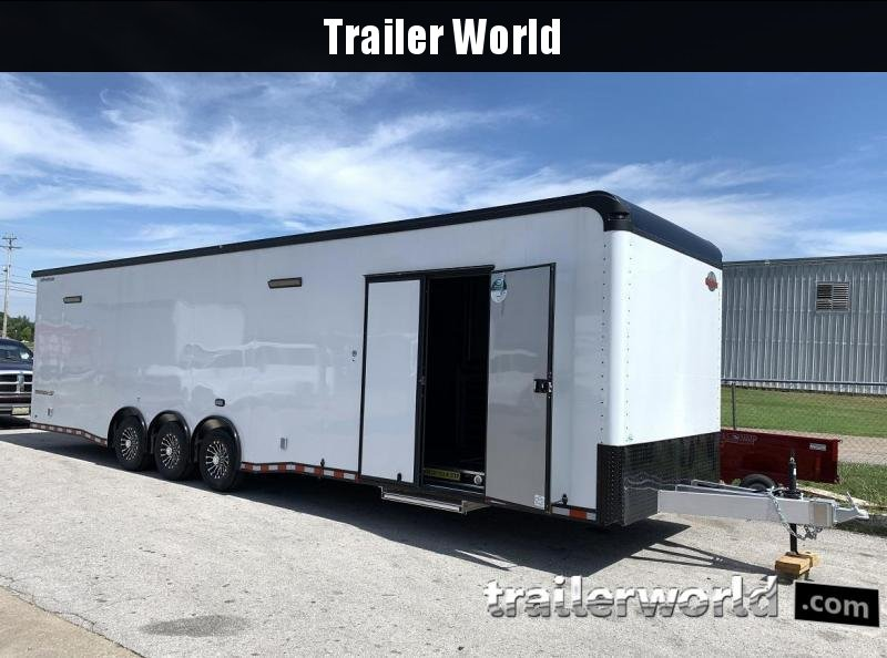 2020 Cargo Mate 34' Eliminator Aluminum Race Trailer