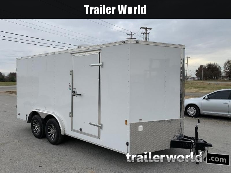 2020 Continental Cargo 8.5' x 16' x 6.6' Enclosed Cargo Trailer w/ AC