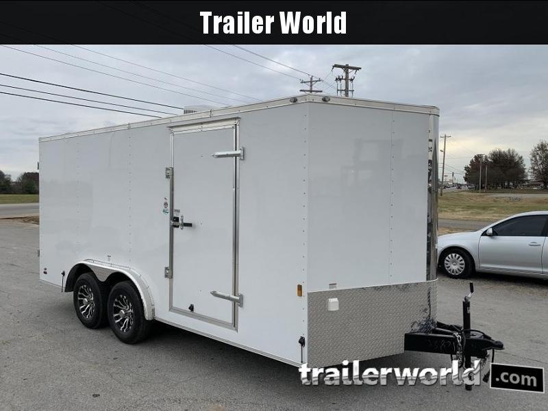 2020 Continental Cargo 8' x 16' x 6.5' Cargo Trailer w/ AC