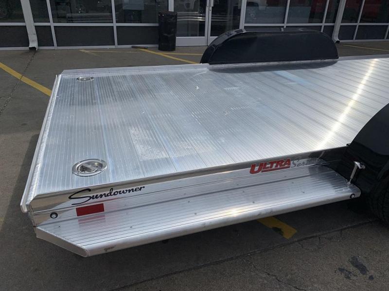 2020 Sundowner ULTRA Aluminum Open Car Hauler Trailer 22'