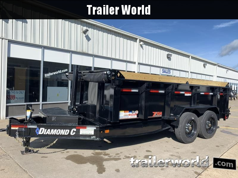 2020 Diamond C  LPT 14' Low Profile Commercial Grade 18k GVWR