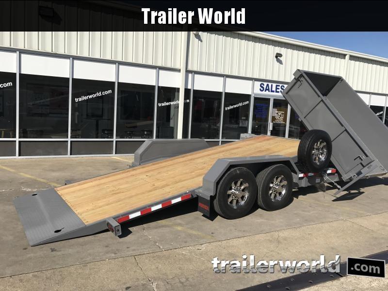 2020 Midsota HS-21Tilt 21'  5' Dump + 16' Tilt Trailer 15k GVWR