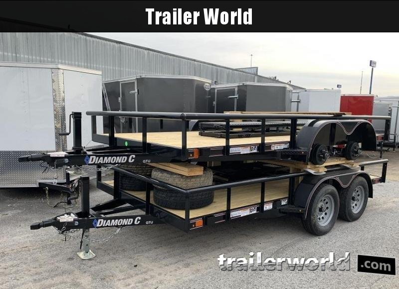 2020 Diamond C Trailers GTU 14' Utility Trailer
