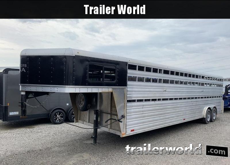 2018 Trailers USA Inc. 8' x 28' Livestock Trailer 16k GVWR