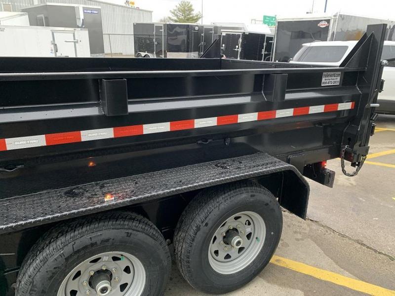 2020 Sure-Trac 16' Dump Trailer 21K GVWR Telescopic Goose