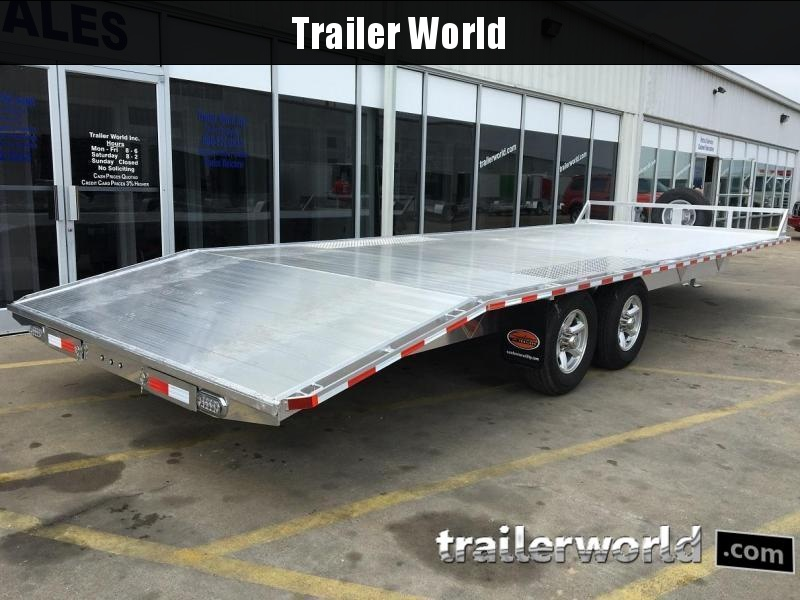 2019 Sundowner 24' Aluminum Deck -Over Trailer