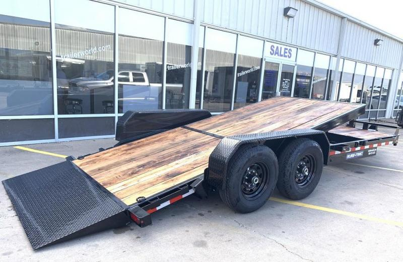 2020 Sure-Trac 7 X 16 + 4 Tilt Bed 20' Equipment Trailer  14K GVWR